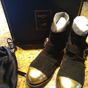 Balmain Paris h&m boots